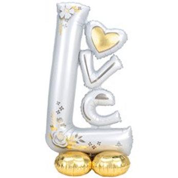Love Airfill Foil Balloon
