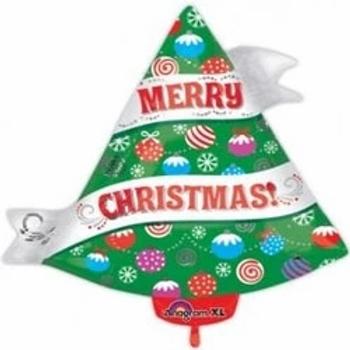 Christmas Tree Shape Foil Balloon