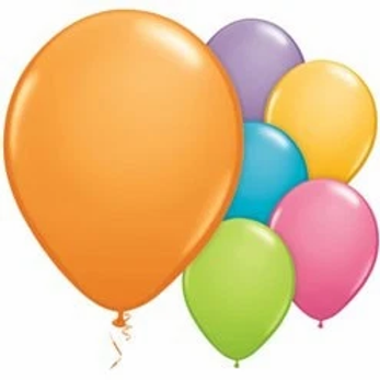 Coloured Party Latex Balloons