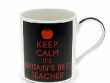 Keep Calm Teacher Boxed Gift Mug