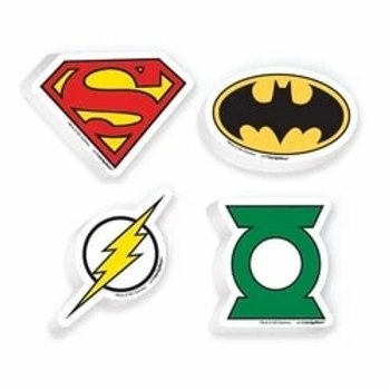Justice League Rubbers