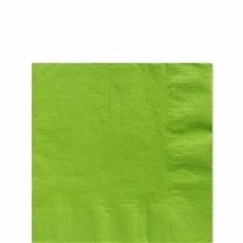 Lime Green Paper Napkins Size 33cm