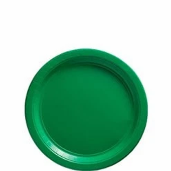 Green Party Paper Plates