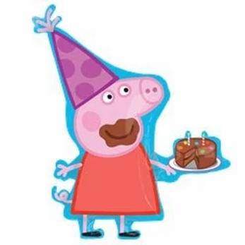 Peppa Pig Super Size Foil Party Balloon