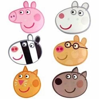 Peppa Pig Party Masks