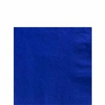 Royal Blue Paper Napkins Size 33cm