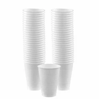 White Party Cups 473ml
