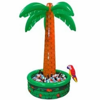 Palm Tree Inflatable Drinks Coolers