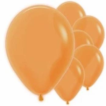 "Neon Orange 12"" Balloons"