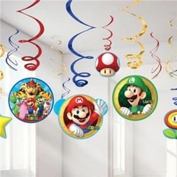 Super Mario Hanging Swirls