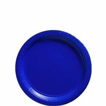 Royal Blue Party Paper Plates