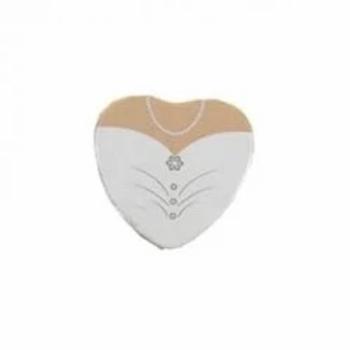 Bride Heart Shape Wedding Favour Tin