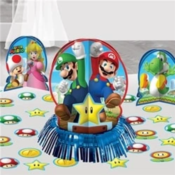 Super Mario Table Decorating Kit