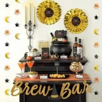 Halloween Wicked Brew Bar Decorating Kit