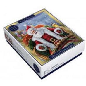 Santa Boxed Season Christmas Cards