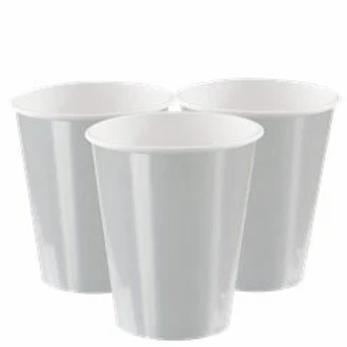 Silver Metallic Paper Cups