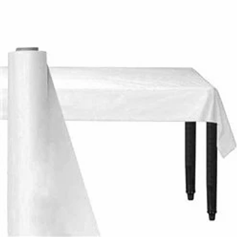 White Banqueting Roll 30m