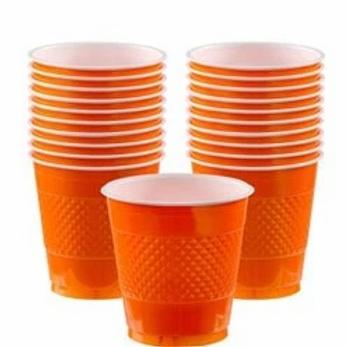 Orange Party Cups