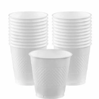 White Party Cups 355ml