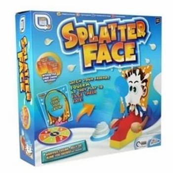 Splatter Face Game