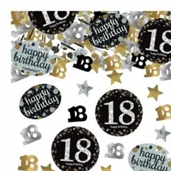 18th Birthday Sparkling Table Confetti