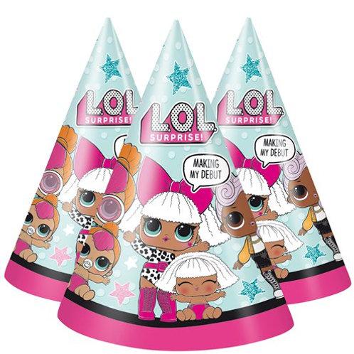 LOL Surprise Paper Party Hats