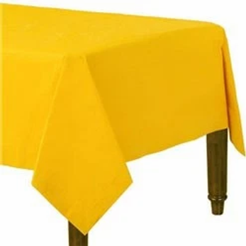 Yellow Paper Tablecovers