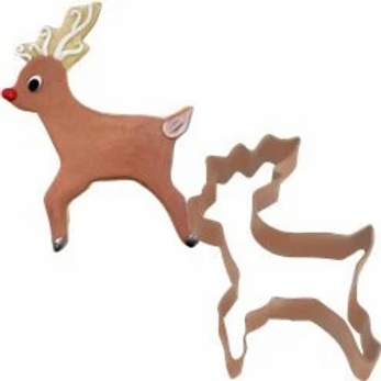 Reindeer Cookie Cutter Shape