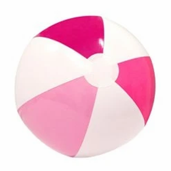 Pink Inflatable Beach Ball