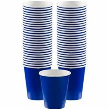 Royal Blue Coffee Cups