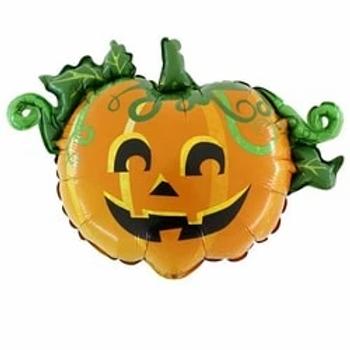 Scary Pumpkin Foil Balloon