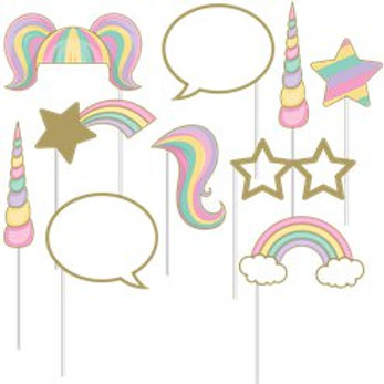 Unicorn Sparkle Photo Booth Props