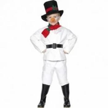 Snowman Boys Costume