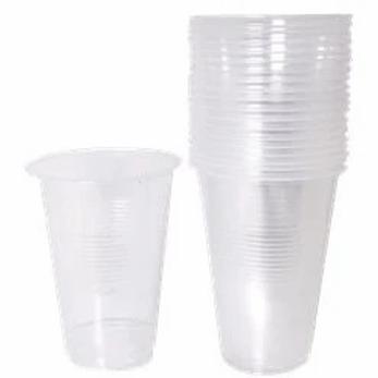 Clear Plastic Half Pint Glass Size 284ml