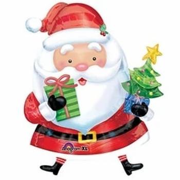 Santa Christmas Shape Foil Balloon