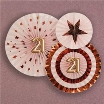 21st Glitz & Glamour Pinwheel Fans