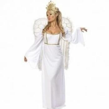 Adult Angel Fancy Dress Costume