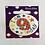 Happy 9th Birthday Round Clip Badges