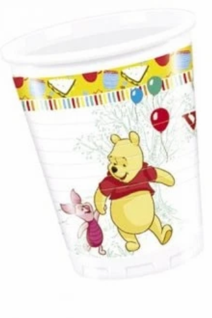 Wninie The Pooh Party Cups Set Of 8
