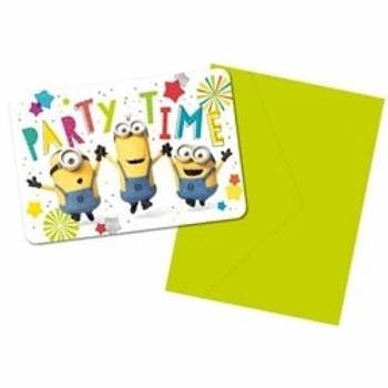 Minions Party Invitations