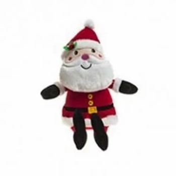 Santa Festive Plush Teddy Bear