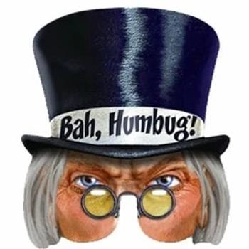 Scrooge Face Mask