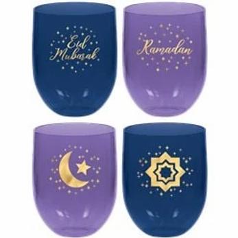 Eid Plastic Tumblers