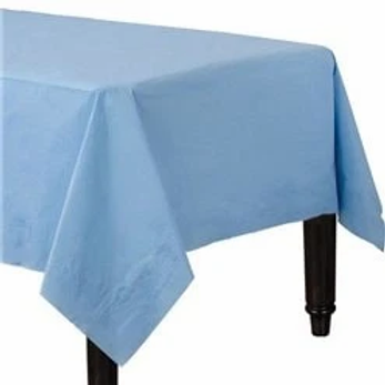 Baby Blue Paper Tablecovers