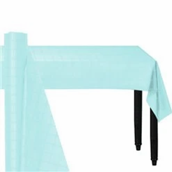 Light Blue Banqueting Roll 8m