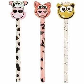 Farm Animal Inflatable Sticks