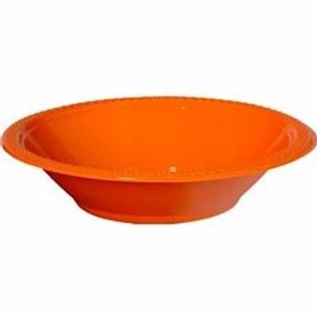 Orange Serving Bowls