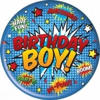 Birthday Boy Jumbo Badge