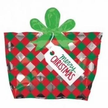 Christmas Present Shape Foil Balloon