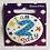 Happy 2nd Birthday Round Clip Badges